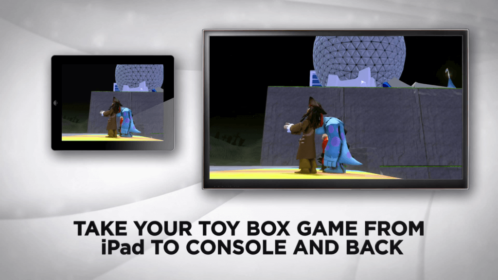 Disney Infinity Toy Box App iPad