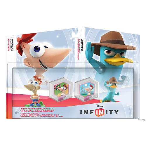 Phineas & Ferb Toy Box Set