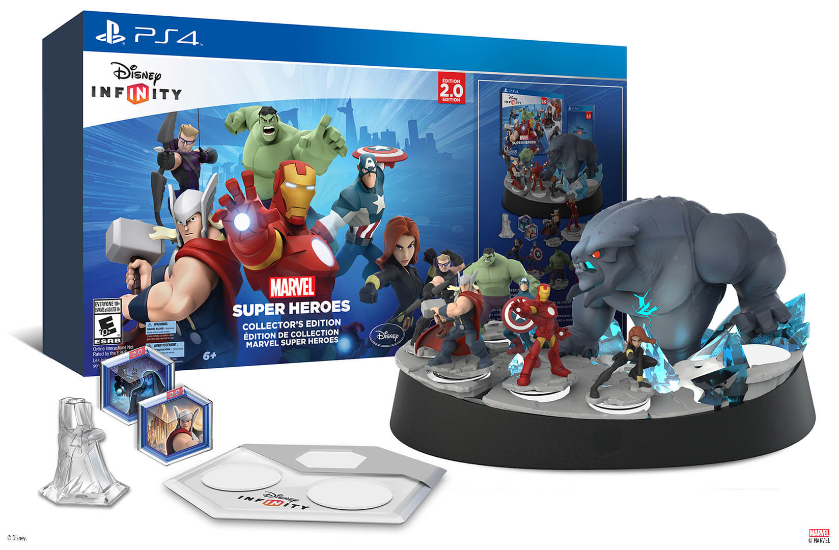 The Disney Infinity: Marvel Super Heroes (2.0 Edition) Collector's
