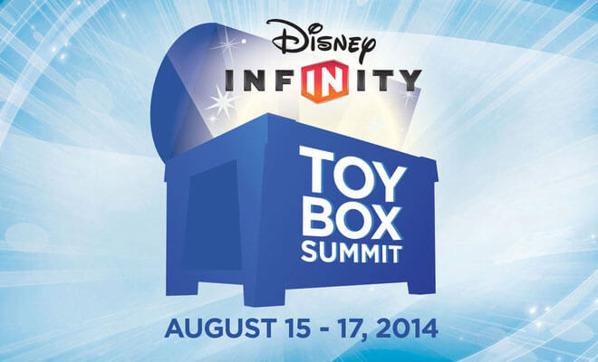 Today is the day the disney infinity toy box summit is set to go