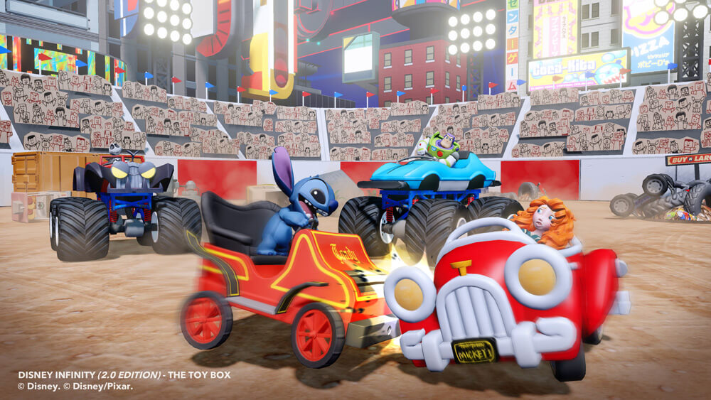 New batch of screenshots from the disney infinity 2 0 edition toy