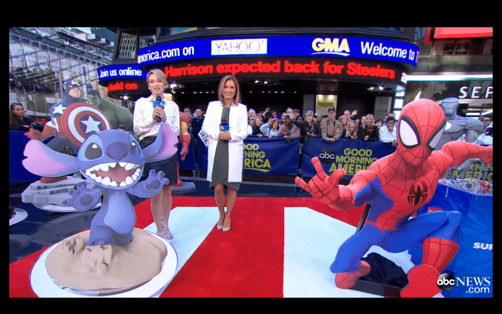 Good Morning America Segments Today : Video disney infinity featured on good morning america