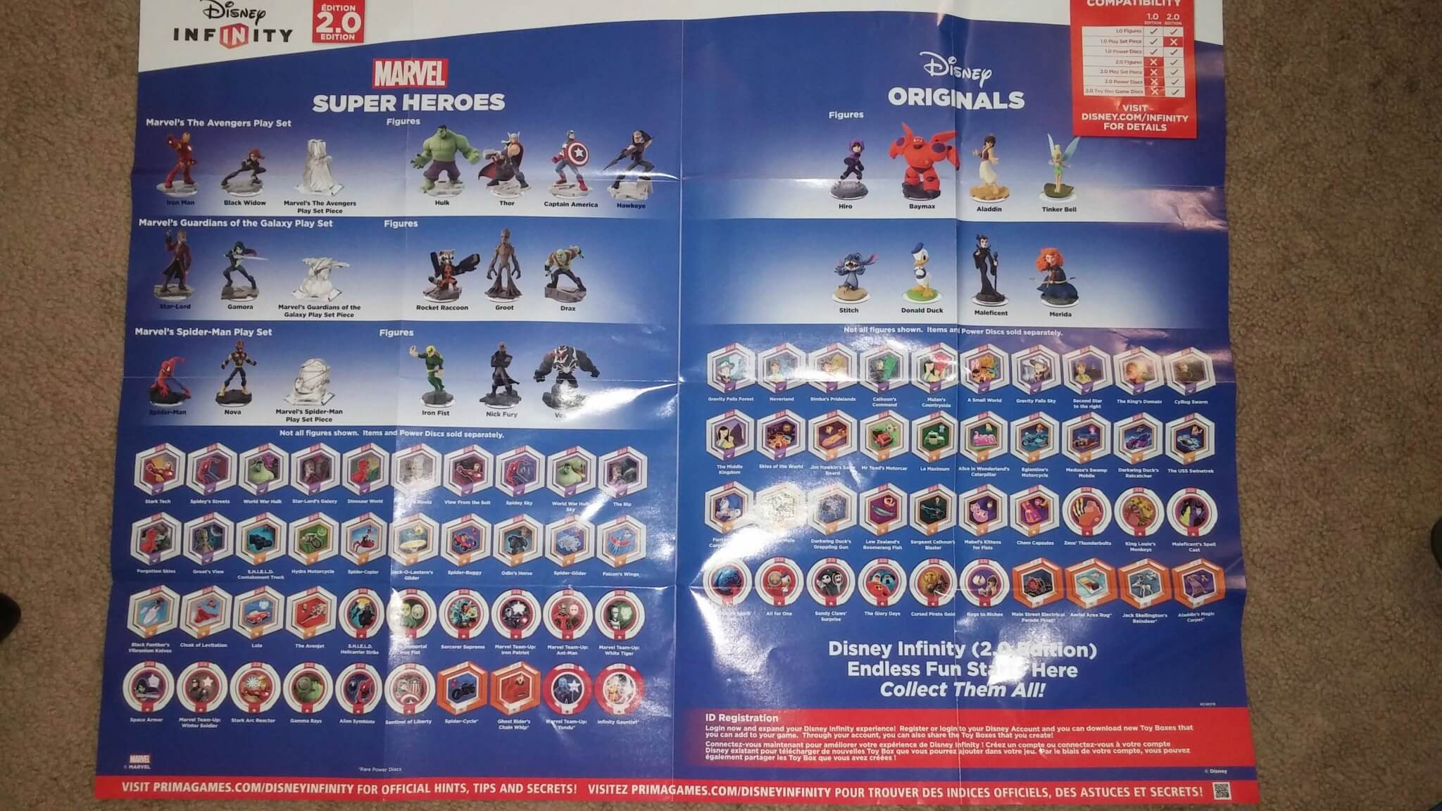 First Look At Poster Included With Disney Infinity 20 Starter Pack