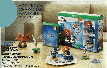 Disney Infinity Weekly Sales Roundup 11 2 11 8