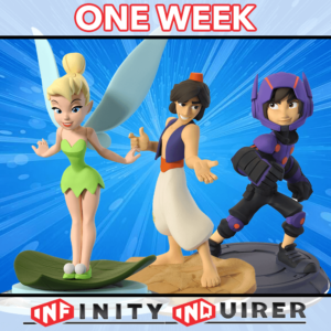 DisneyInfinityOneWeek