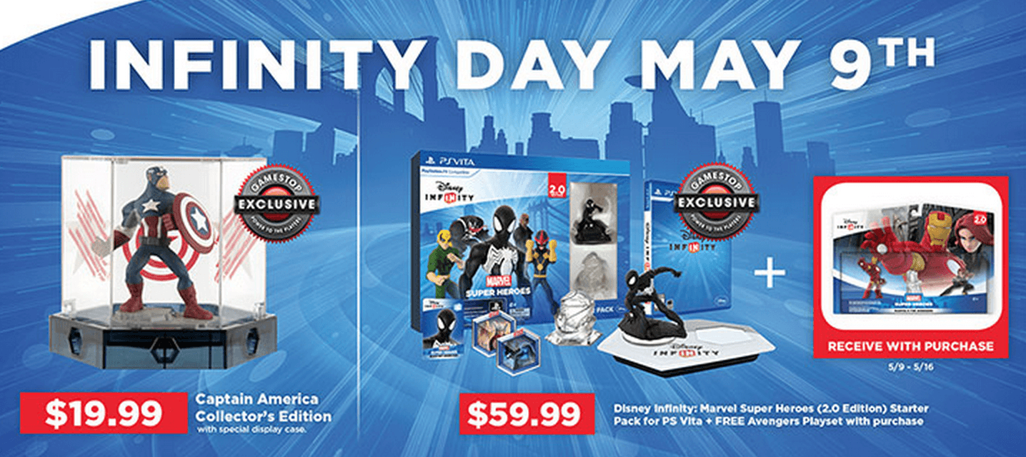 Disney Infinity Day On May 9th Sales And Brand New Gamestop Exclusives Infinity Inquirer