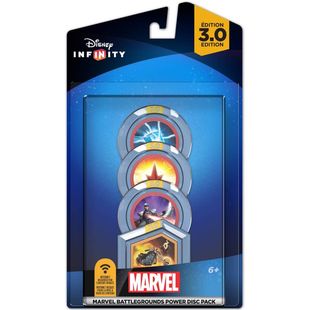 Marvel Power Disc Pack for Disney Infinity 3.0