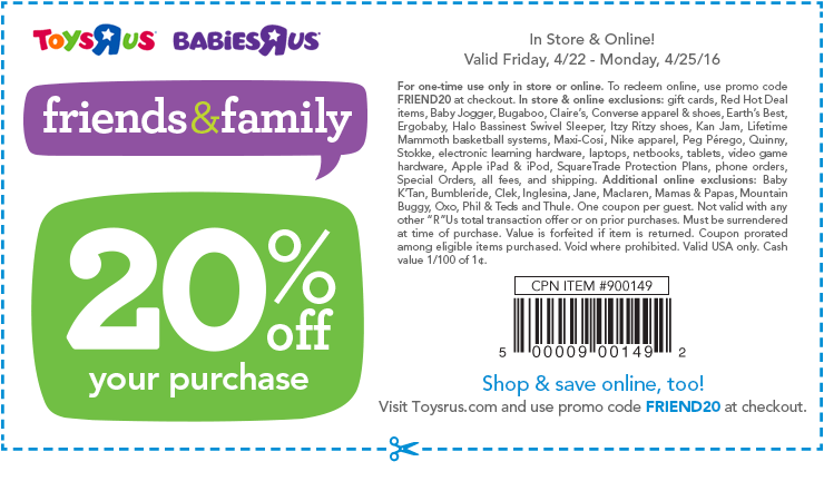 Babies r us coupons november 2018 only